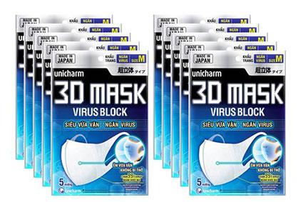 Khẩu trang 3D Mask (bịch 5 cái)