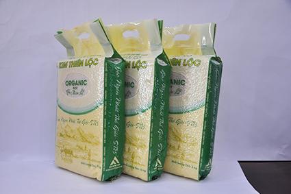 Gạo Organic ST25 túi 5kg