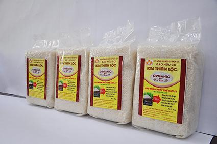 Gạo Organic ST25 túi 2kg