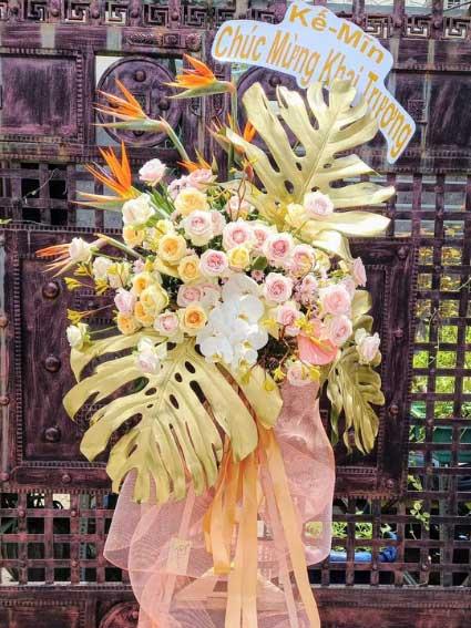 Hoa Mừng Khai Trương Thành Công