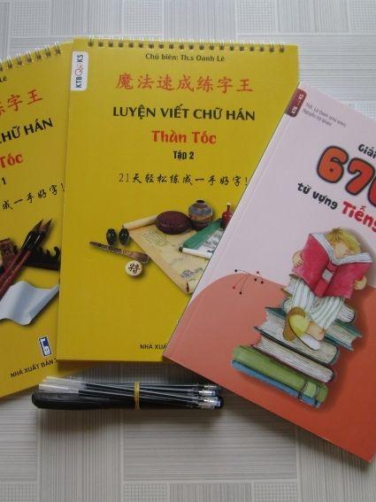 Bộ luyên viết chữ Hán thần tốc